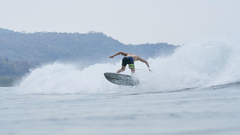 surf leash comp blue 6-6mm Slab