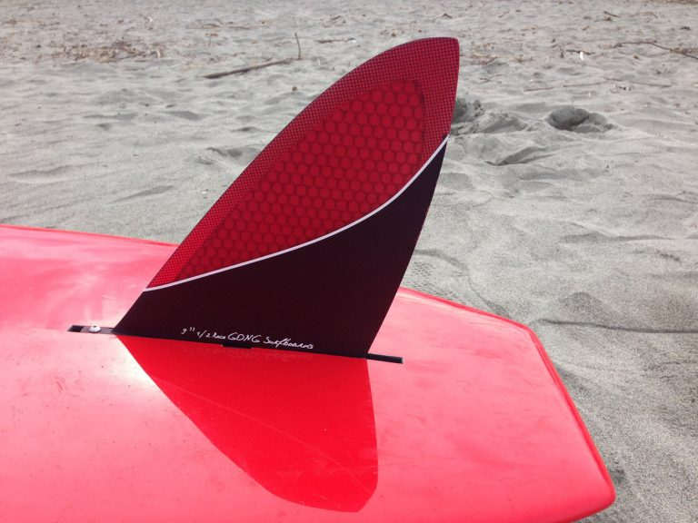 GONG FIN US RED HONEYCOMB RACE 9.5″ 240mm