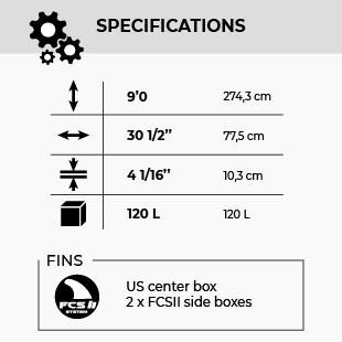 GONG SUP 9'0 NFA 120 FSP