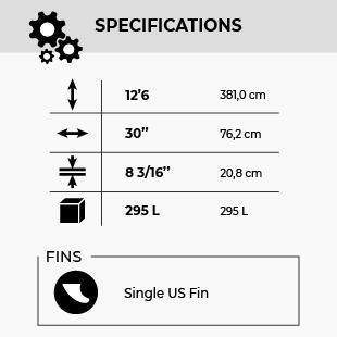 GONG SUP 12'6 X 30 SHERPA FSP