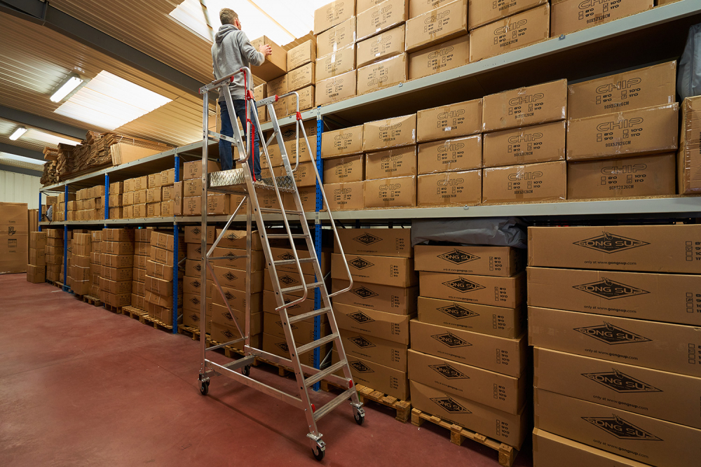 stock rangement cartons GONG