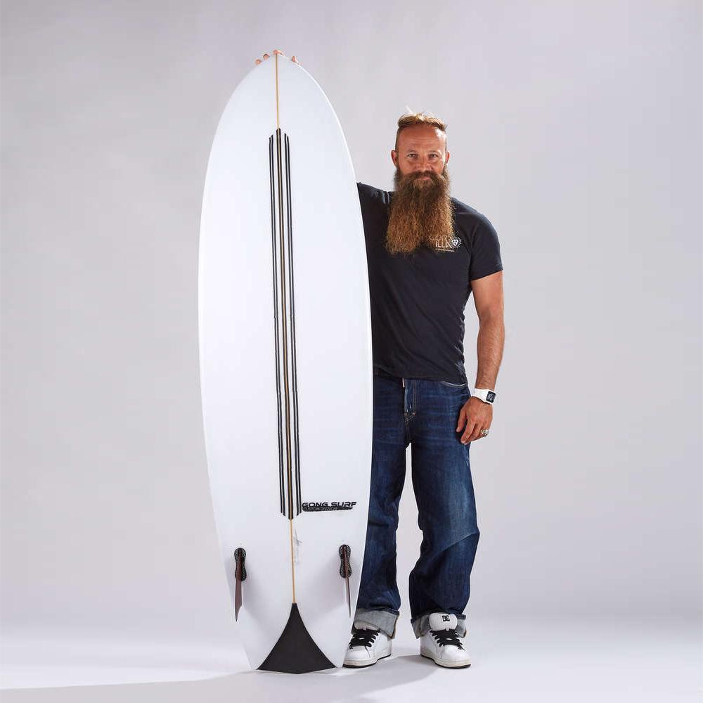 planche surf 6'11 PIE Beket PU