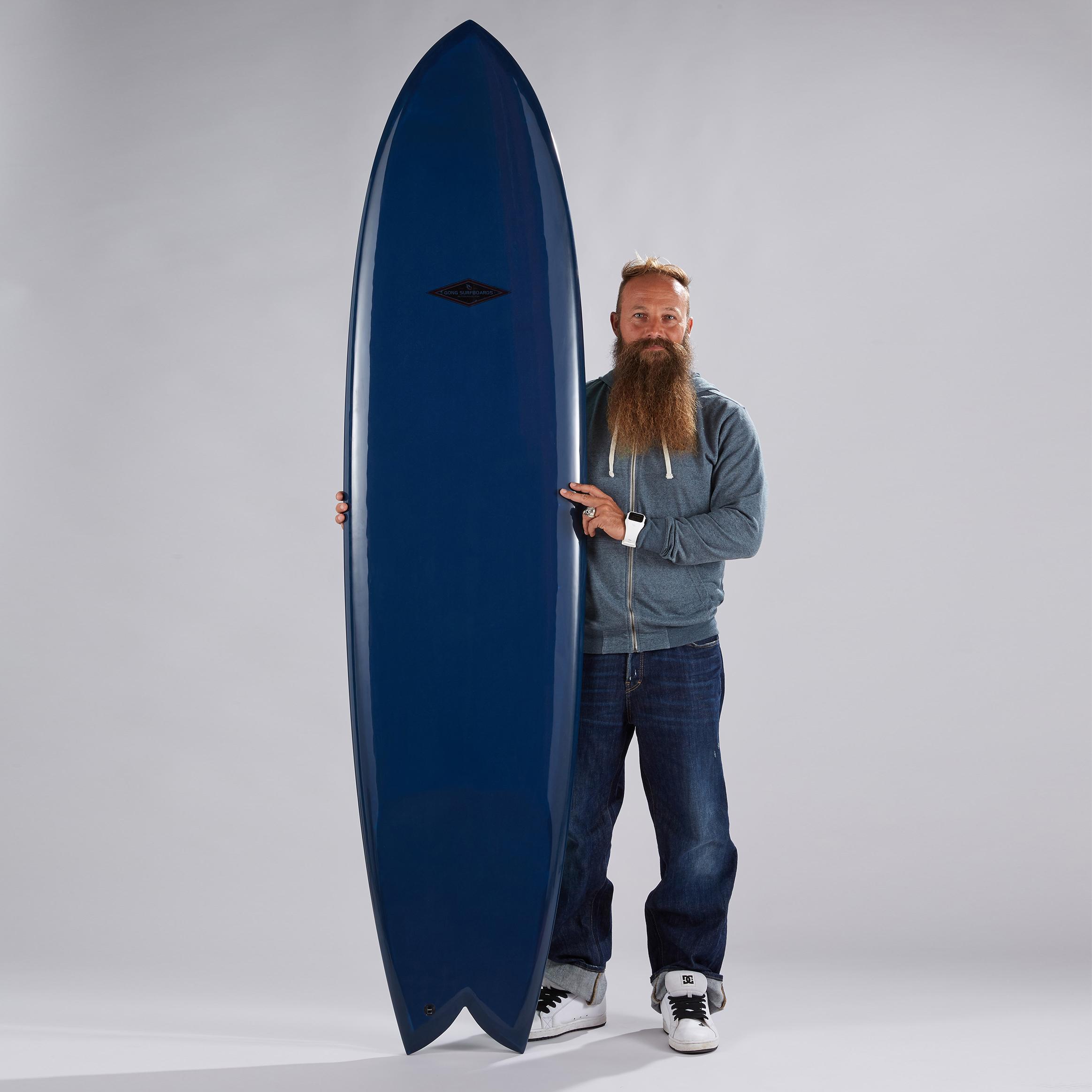 planche surf 7'11 PIE S-PACE PU