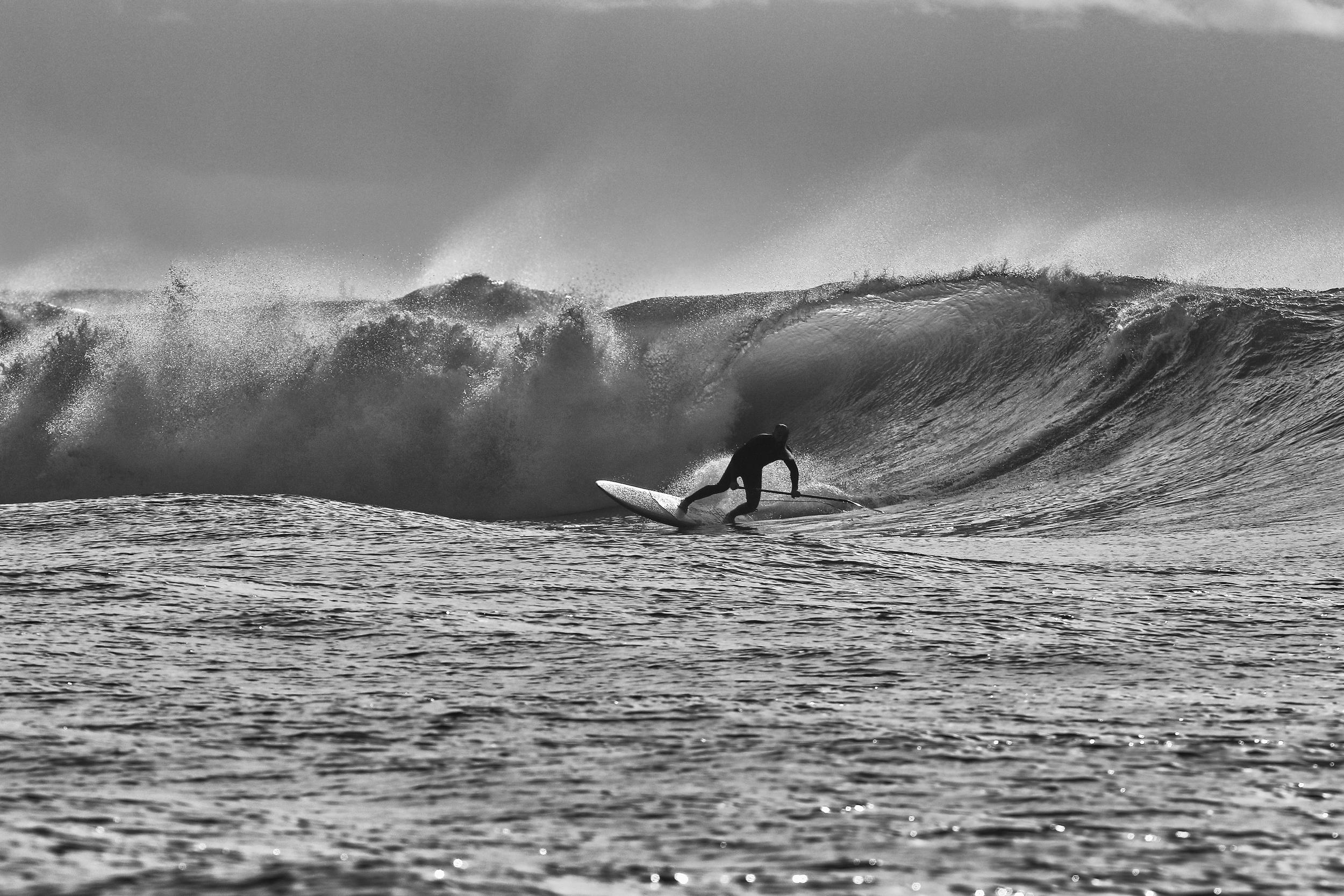 bandeau R&D surf noir et blanc