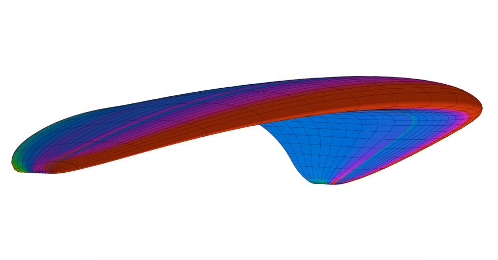 dessin 3D couleurs aile