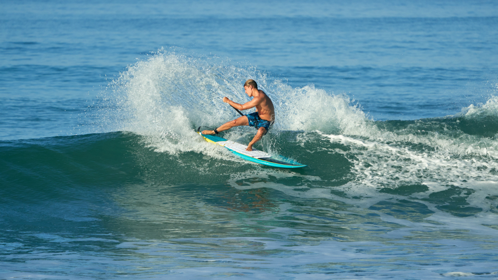 Surf planche gong pagaie