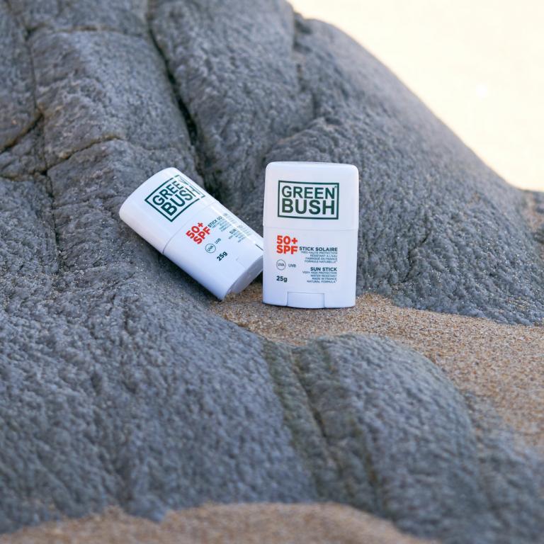 GREENBUSH STICK SOLAIRE SPF50+ BLANC