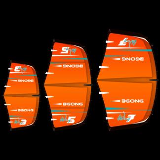 Wing orange fluo 3m2 5m2 et 7m2