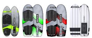 Surfoil boards