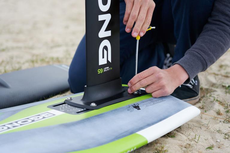 GONG SURF FOIL ALLVATOR V2 CURVE ALU CARBON