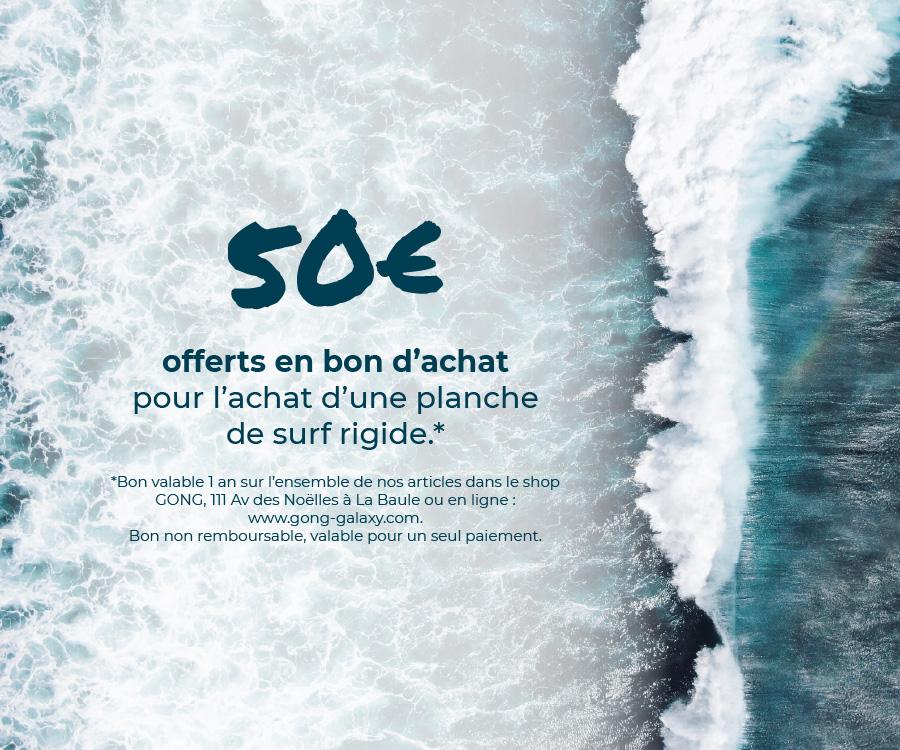 Bon d'achat SURF