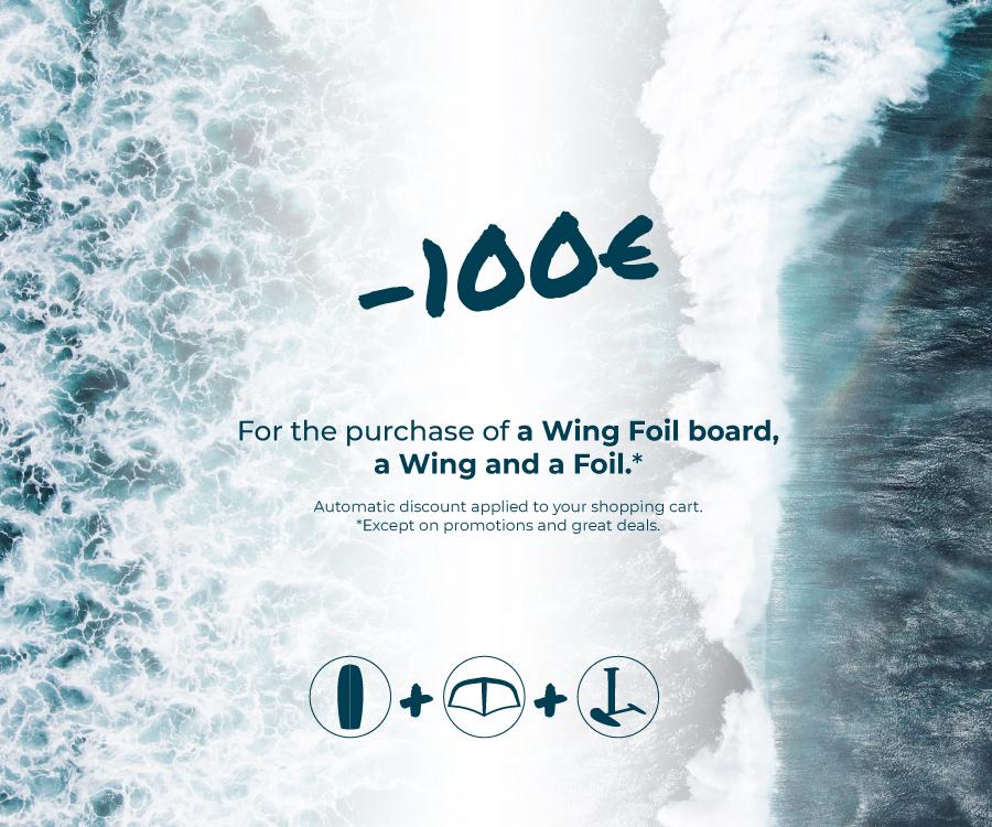 promo wing foil planche